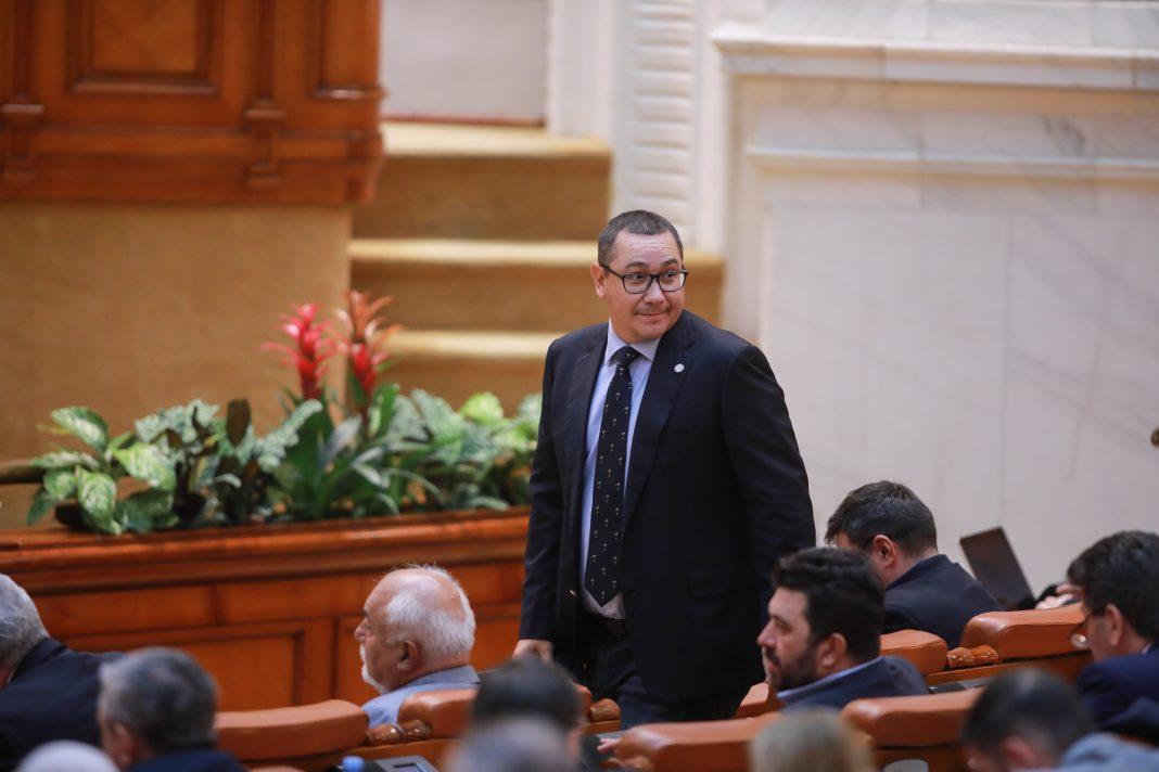 victor ponta in parlamentul romaniei