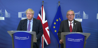 Boris Johnson si Jean-Claude Juncker