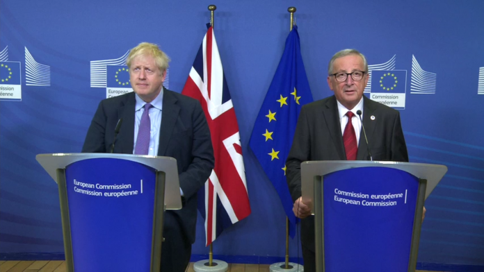 Boris Johnson si Jean-Claude Juncker