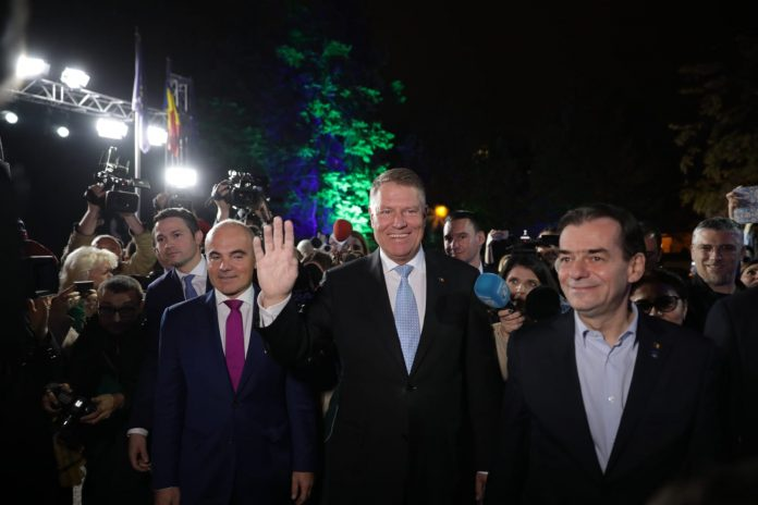 Romania's president and prime minister are both members of ethnic minoritues