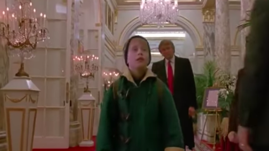 donald trump home alone 2
