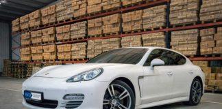 Porsche scoasa la licitatie, ANABI