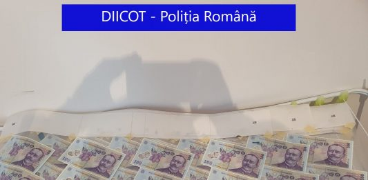 DIICOT, politia Romania, falsificare moneda