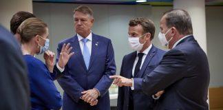 Iohannis masca Consiliu european