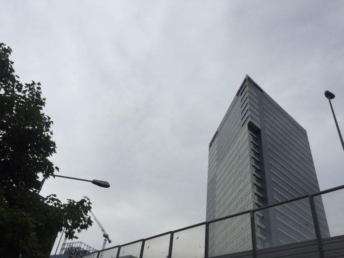 Office building, Bucharest, Cladire de birouri, Bucuresti, August 2020