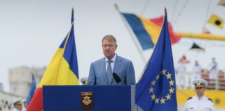 Klaus Iohannis, Navy Day, Aug. 15, 2020, Romanian presidency
