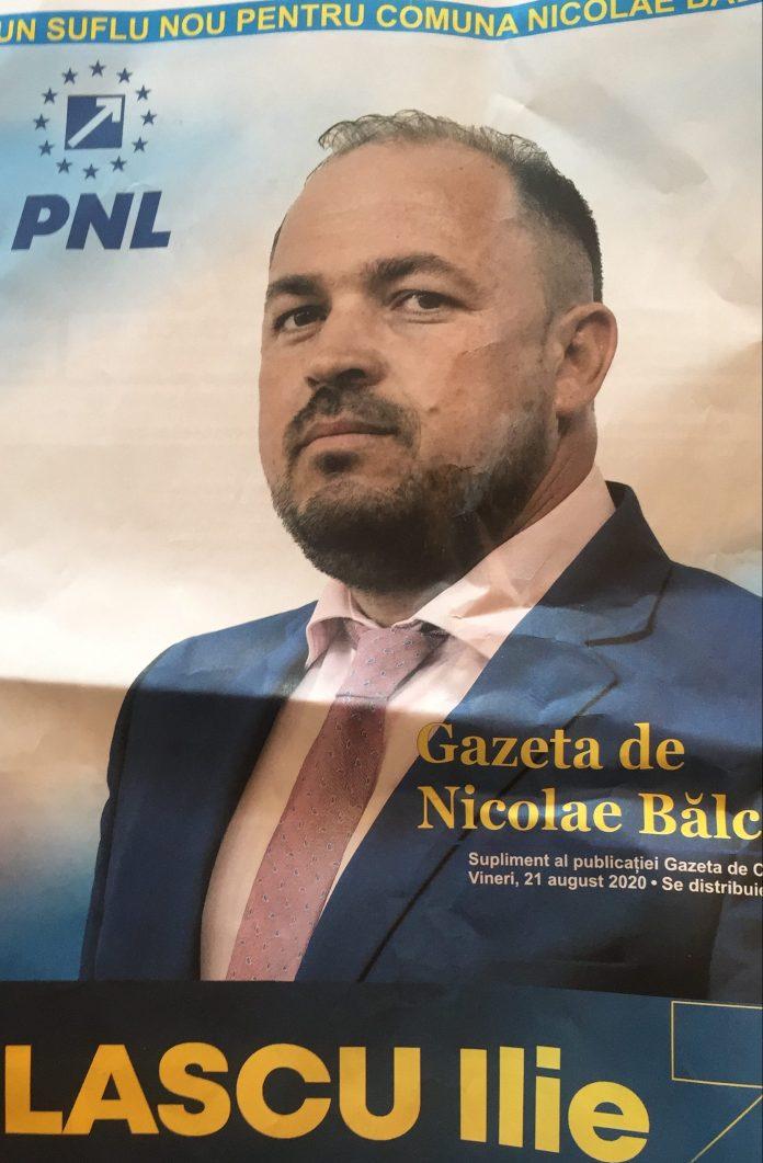 Ilie Lascu, candidat la primarie Nicolae Balcescu