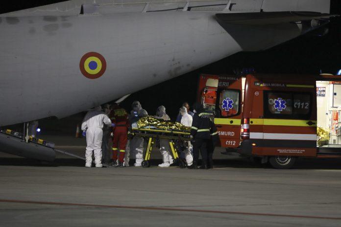 Piatra neamt incendiu spital coronavirus victime