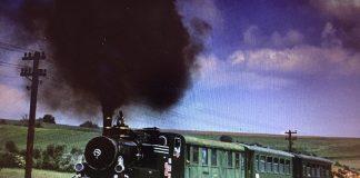 Mocanita/steam train between Sibiu-Agnita 1995