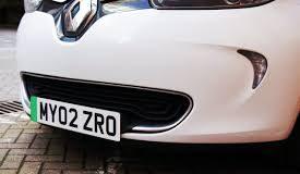 Green number plates, UK