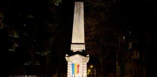 Monumentului Secuilor Martiri din Târgu Mureş vandalizat, Facebook