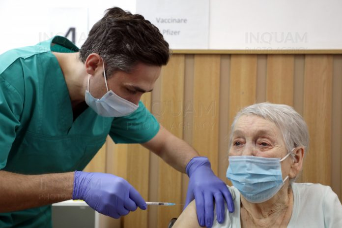86-year-old woman is 1 millionth person to be vaccinated in Romania, government press office