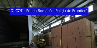 Illegal cigarette factory busted in southern Romania. Photo DIICOT/Romanian police
