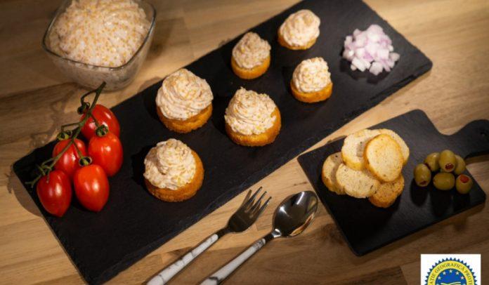 salata de icre de stiuca/ danube delta caviar. source: agriculture ministry