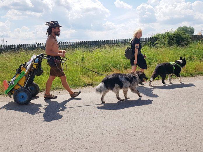 Sandor Buz, Marion Locker, CEO of Robin Hood dog ngo