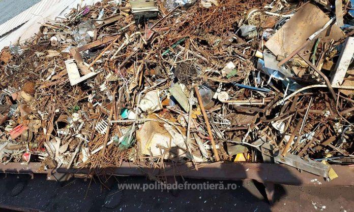 Waster seized in Cernavoda, Politia de Frontiera